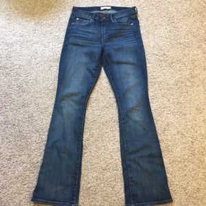 Gap baby boot jeans, very good condition.